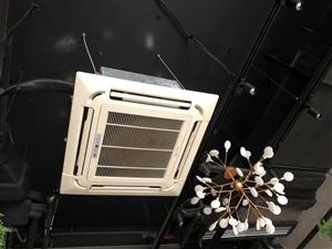 转让中央空调两个 消毒柜 小电磁炉 旋转台 吧台凳 韩式烤肉桌子上凳子 餐具 等.……价格实惠的九成...