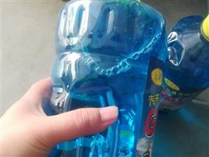 玻璃水1.8L 的  五元三瓶  市里可送货