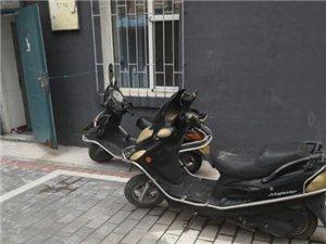 不要霸占机动车停车位