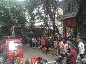 【已回复】菜市随摆、交通堵塞、扰乱民生