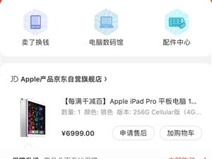 苹果iPadpro10.5 256G 国行。插卡版。入手四个月,现低价转让,5000
