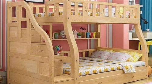 出售双层木床两张,需要的联系