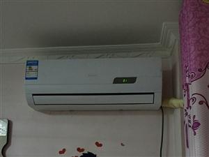 新科1匹空调,8成新,包安装