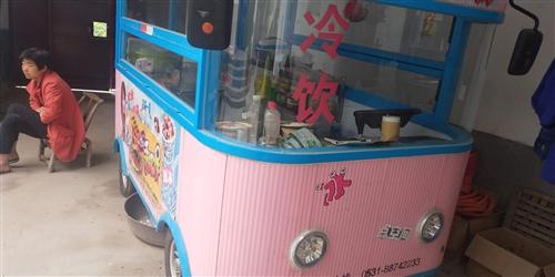 一辆可油炸 煎,蒸,煮也可做冷饮的 餐饮车。有意请联系我。  价格面议。看过货再谈