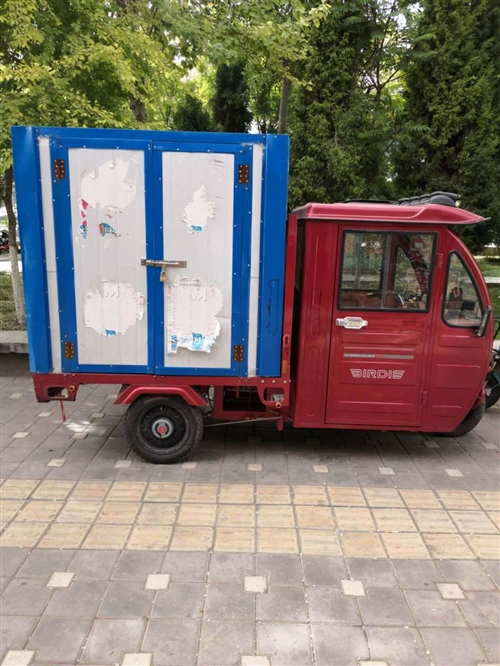 小鸟货箱电动车