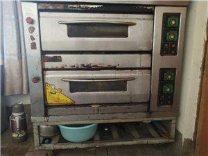 双层燃气烤箱,面包专用和面机,压皮机三种一千块钱