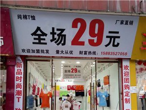 29元纯棉亲子装厂家直销