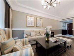 120㎡优雅美式3室2厅,演绎温馨与浪漫的品质生活