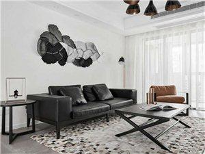 135㎡现代主义3室2厅,时尚与睿智的黑白格调