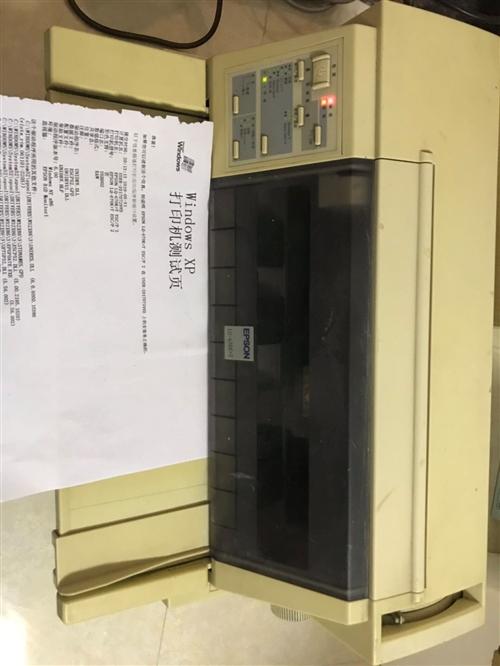 爱普生670kt针式打印机,无断针,打印正常,原本用于打快递单,现白菜价出了,110块,还送几盒色带...