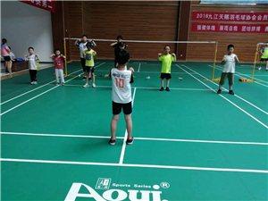 暑期羽毛球培训班招生啦