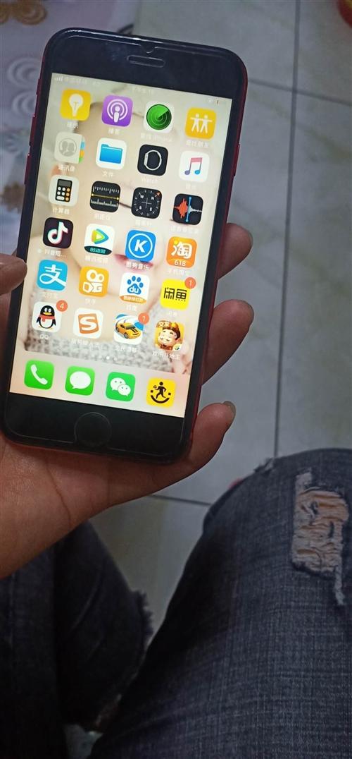 苹果8买了一星期,屏幕太小用不惯,全新