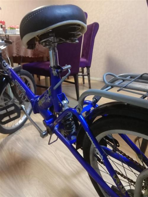 儿童折叠凤凰自行车,九成新,