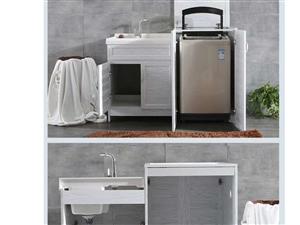 定制铝合金洗衣柜 吊柜
