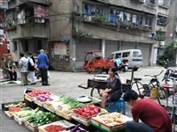 昨天城府各大部门强调蔬菜水果不能在外面摆摊设点占到经营,今天还不到九点就搬出市场,请问?这是管理的什