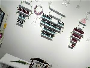 �纱筇紫导子湍z(96色+70色)+美甲工具+放甲油�z架子+1.4米的美甲桌子+3把椅子具�w�r格可以面...