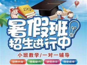 希望教育暑假招生中