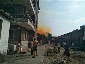 涵江东方二十五坎附近又着火了!现场浓烟滚滚!