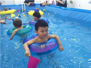 马博士婴幼儿游泳馆形象图