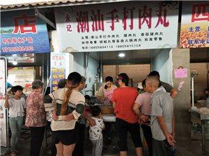 永记潮汕手打牛肉丸双十一优惠大活动形象图