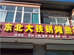 东北铁锅炖鱼村形象图
