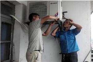 澳门威尼斯人网址专业开孔,空调,空气能热水器安装