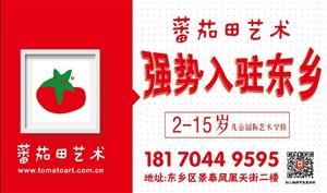 蕃茄田艺术强势入驻东乡