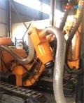 岩拓机械yc726钻车自带除尘器