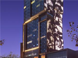 郑州建业艾美酒店形象图