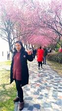 江边春光明媚景色美丽游人多多