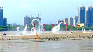 省二届全运会开幕式水上表演真精彩