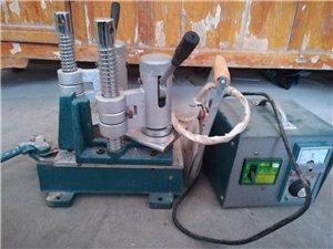 小型塑钢窗焊机,和不锈钢插销60付