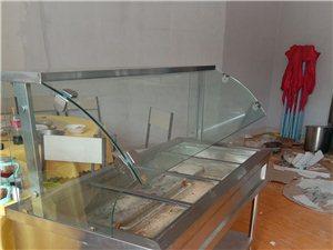 加热试快餐展示柜,九成新。