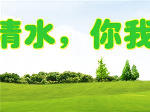 """""""生态清水你我共建""""——2017年清水县植树造林公益活动"""