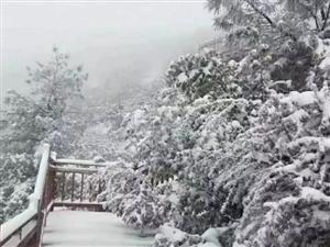 汉中下雪了!附高清组图!