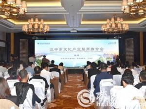 城固县携亿元文化产业项目亮相丝博会