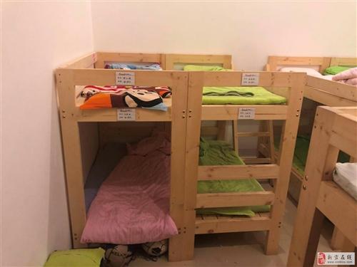 转让托部一批实木双层床