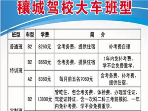 邓州市穰城驾校总校招收大小车学员